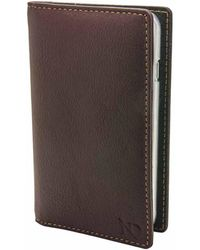 N'damus London - Brown Leather Iphone 6 & Card Holder Case With Clear Cradle - Lyst