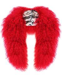 Florence Bridge - Cosima Collar Red - Lyst