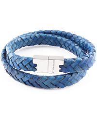 Tissuville - Stark Bracelet Royal Blue Silver - Lyst