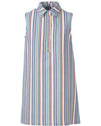 Acephala - Striped Dress - Lyst