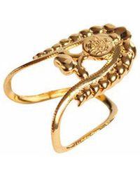 QIYADA | Aisha Knuckle Ring | Lyst