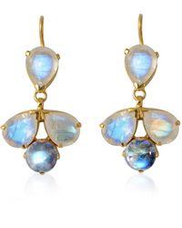Emma Chapman Jewels - Elara Moonstone Drop Earrings - Lyst