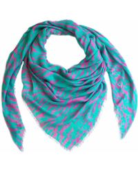 Cashmere Silk Scarf - MULTI COLOR TRIANGLE by VIDA VIDA NJcX1