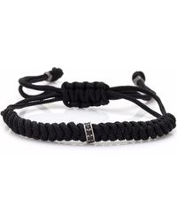 4Fellas - Inception Black Bracelet - Lyst