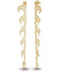 Vitae Ascendere - Swirling Wave Earrings - Lyst
