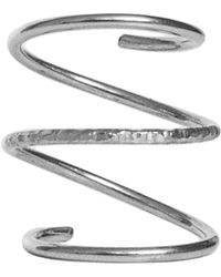 Dutch Basics - The Silver Waves Ring - Lyst