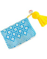 Soi 55 Lifestyle - Cheche Mexican Travel Pouch Blue - Lyst
