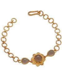 Emma Chapman Jewels - Isa Black Moonstone Bracelet - Lyst