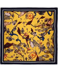 Klements - Large Square Scarf Freaks Print - Lyst
