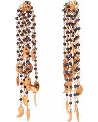 Carousel Jewels - Black Onyx Waterfall Earrings - Lyst