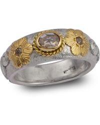 Emma Chapman Jewels - Treasure Rose Cut Diamond Ring - Lyst