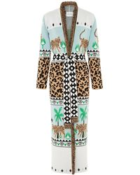 Hayley Menzies - Leopardess Duster Ice Blue - Lyst