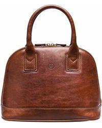 Maxwell Scott Bags - The Rosa Ladies Classic Leather Handbag Chestnut Tan - Lyst