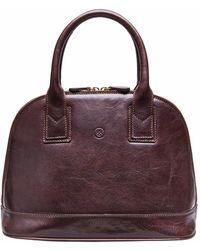 Maxwell Scott Bags - The Rosa Ladies Classic Leather Handbag Black - Lyst