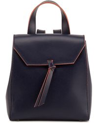 Alexandra De Curtis - Hepburn Mini Backpack Navy Blue - Lyst