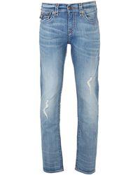 True Religion - Geno Super T Fbtm Worn Prospect Jeans - Lyst