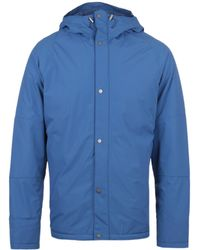 Barbour - Rydal Sky Blue Weather Comfort Padded Hooded Jacket - Lyst