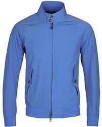Baracuta - G9 Original Cornflour Blue Harrington Jacket - Lyst
