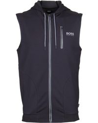 BOSS by Hugo Boss - Hooded Slate Beach Vest - Lyst