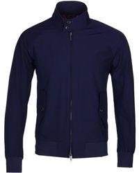 Baracuta - G9 Original Indigo Harrington Jacket - Lyst