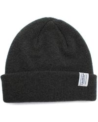 Barbour - Olive Lambswool Watch Cap - Lyst