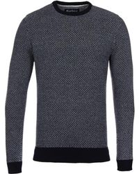 Barbour - Calvay Knitted Crew Neck Jumper - Lyst