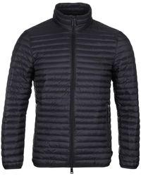 Emporio Armani - Lightweight Black Down Jacket - Lyst