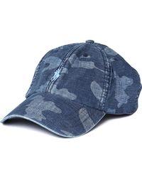 Polo Ralph Lauren - Blue Camo Sports Cap - Lyst