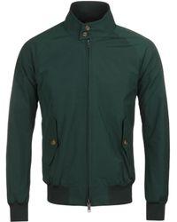 Baracuta - G9 Original Racing Green Harrington Jacket - Lyst