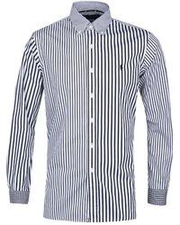 Polo Ralph Lauren - Blue Mixed Stripe Shirt - Lyst