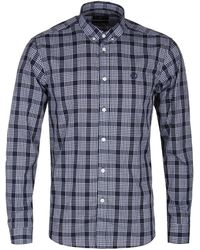 Henri Lloyd - Queensbury Navy Check Button-down Shirt - Lyst