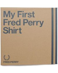 Fred Perry - My First Boxed White Polo Shirt - Lyst