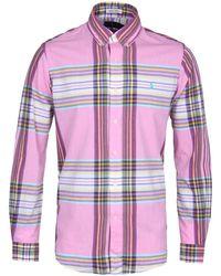 Polo Ralph Lauren - Pink Indian Madras Button-down Shirt - Lyst