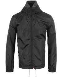 Pretty Green - Darley Black Weather-proof Hooded Jacket - Lyst