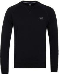 BOSS Orange - Boss Wyan Black Sweatshirt - Lyst