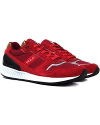 Polo Ralph Lauren - Red Train100 Trainers - Lyst