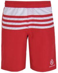 Henri Lloyd - Nes Red Striped Swim Short - Lyst