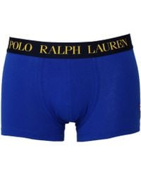 Polo Ralph Lauren - Royal Blue Logo Classic Trunks - Lyst