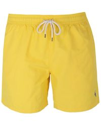 Polo Ralph Lauren - 51⁄2-inch Traveller Swim Trunk - Lyst