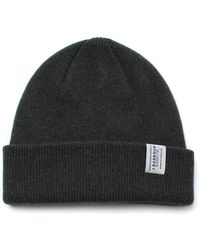 Barbour - Lambswool Olive Watch Cap - Lyst