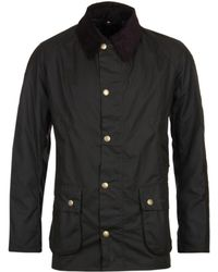 Barbour - Ashby Olive Wax Jacket - Lyst
