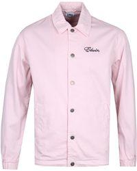 Edwin - Pink Coach Jacket - Lyst