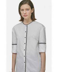 Yigal Azrouël - Button Front Shirt - Lyst