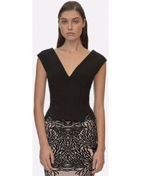 Yigal Azrouël - Off The Shoulder Cropped Top - Lyst