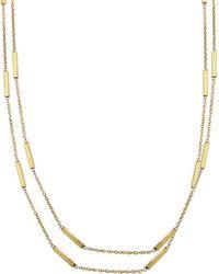 Jennifer Meyer - 44 Inch Bar Chain Necklace - Lyst