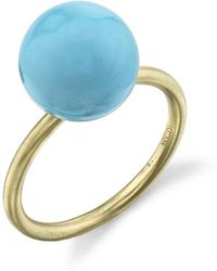 Irene Neuwirth - Kingman Turquoise Sphere Ring - Lyst