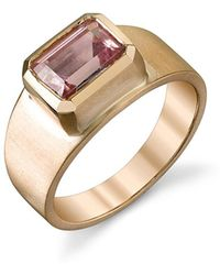 Irene Neuwirth - Faceted Pink Tourmaline Ring - Lyst