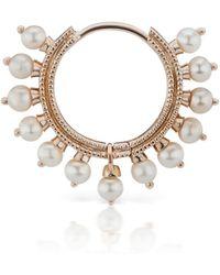 Maria Tash - 9.5mm Large Pearl Coronet Earring - Lyst