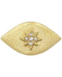 Ileana Makri - Star Evil Eye Single Stud Earring - Lyst