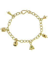 Ileana Makri - Six Bell Charm Bracelet - Lyst